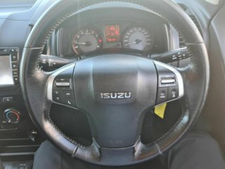 2017 Isuzu D-MAX MY17 SX Crew Cab Silver 6 Speed Sports Automatic Cab Chassis