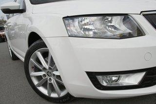 2016 Skoda Octavia NE MY17 Ambition DSG 110TSI Candy White 7 Speed Sports Automatic Dual Clutch.