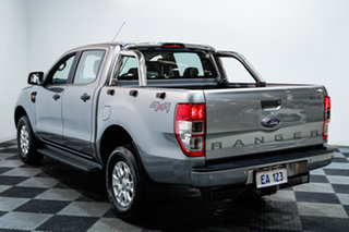 2016 Ford Ranger PX MkII MY17 XLS 3.2 (4x4) Silver 6 Speed Automatic Dual Cab Utility