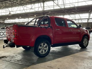 2011 Toyota Hilux KUN26R MY10 SR5 Red 4 Speed Automatic Utility