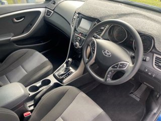 2015 Hyundai i30 GD3 Series II MY16 Active Dazzling Blue 6 Speed Sports Automatic Hatchback