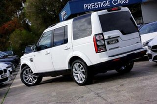 2016 Land Rover Discovery Series 4 L319 MY16.5 HSE White 8 Speed Sports Automatic Wagon.