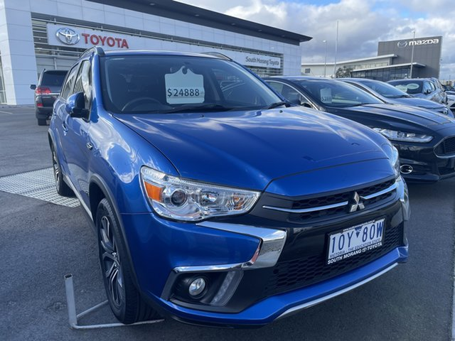 Pre-Owned Mitsubishi ASX XC MY18 LS 2WD South Morang, 2018 Mitsubishi ASX XC MY18 LS 2WD Blue 1 Speed Constant Variable Wagon