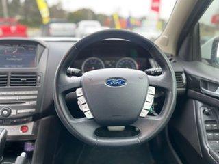 2012 Ford Falcon XR6 Turbo White Sports Automatic Sedan