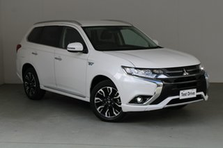 2018 Mitsubishi Outlander ZK MY18 PHEV AWD LS White 1 Speed Automatic Wagon Hybrid.