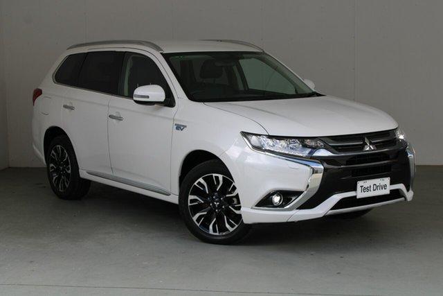 Used Mitsubishi Outlander ZK MY18 PHEV AWD LS Phillip, 2018 Mitsubishi Outlander ZK MY18 PHEV AWD LS White 1 Speed Automatic Wagon Hybrid