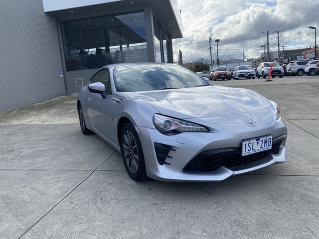 Pre-Owned Toyota 86 ZN6 GT Preston, 2020 Toyota 86 ZN6 GT Ice Silver 6 Speed Sports Automatic Coupe
