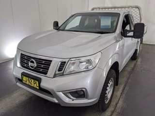 2016 Nissan Navara D23 S2 RX King Cab 4x2 Silver 6 Speed Manual Cab Chassis.