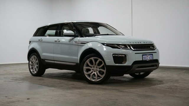 Used Land Rover Range Rover Evoque L538 MY17 HSE Welshpool, 2016 Land Rover Range Rover Evoque L538 MY17 HSE Baltoro Ice 9 Speed Sports Automatic Wagon