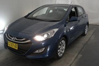 2014 Hyundai i30 GD2 Active Blue 6 Speed Sports Automatic Hatchback.
