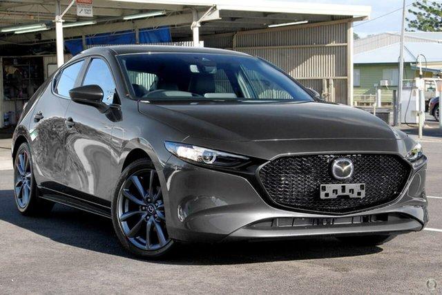 New Mazda 3 BP2H7A G20 SKYACTIV-Drive Touring Waitara, 2021 Mazda 3 BP2H7A G20 SKYACTIV-Drive Touring Grey 6 Speed Sports Automatic Hatchback