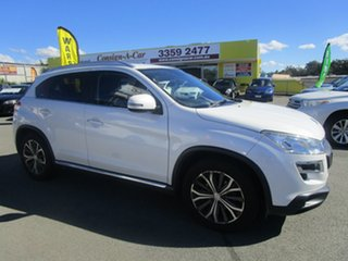 2013 Peugeot 4008 MY13 Active 2WD White 6 Speed Constant Variable Wagon.