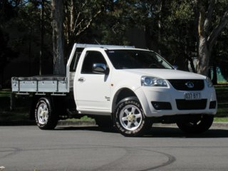 2012 Great Wall V240 K2 MY12 White 5 Speed Manual Cab Chassis.
