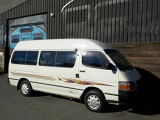 2004 Toyota HiAce LH172R LWB White 5 Speed Manual Van.