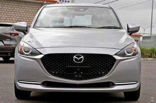 2021 Mazda 2 DJ2HAA G15 SKYACTIV-Drive Evolve Silver 6 Speed Sports Automatic Hatchback.