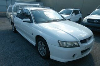 2004 Holden Crewman VZ S White 4 Speed Automatic Utility.