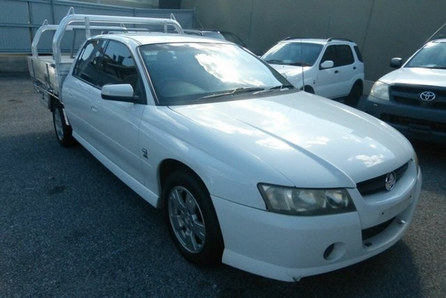 Used Holden Crewman VZ S Gladstone, 2004 Holden Crewman VZ S White 4 Speed Automatic Utility