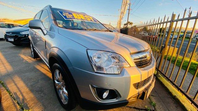 Used Holden Captiva CG MY15 5 LTZ Maidstone, 2015 Holden Captiva CG MY15 5 LTZ Silver 6 Speed Sports Automatic Wagon