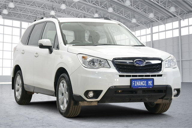 Used Subaru Forester S4 MY15 2.5i-L CVT AWD Victoria Park, 2015 Subaru Forester S4 MY15 2.5i-L CVT AWD Crystal Pearl 6 Speed Constant Variable Wagon