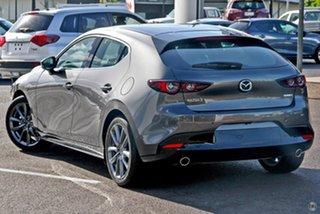 2021 Mazda 3 BP2H7A G20 SKYACTIV-Drive Touring Grey 6 Speed Sports Automatic Hatchback
