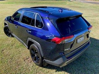 2019 Toyota RAV4 Axah54R Cruiser eFour Saturn Blue 6 Speed Constant Variable Wagon Hybrid