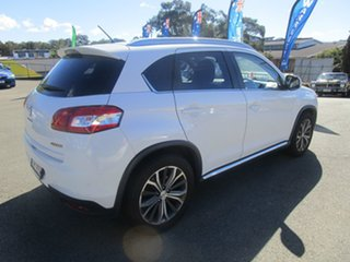 2013 Peugeot 4008 MY13 Active 2WD White 6 Speed Constant Variable Wagon