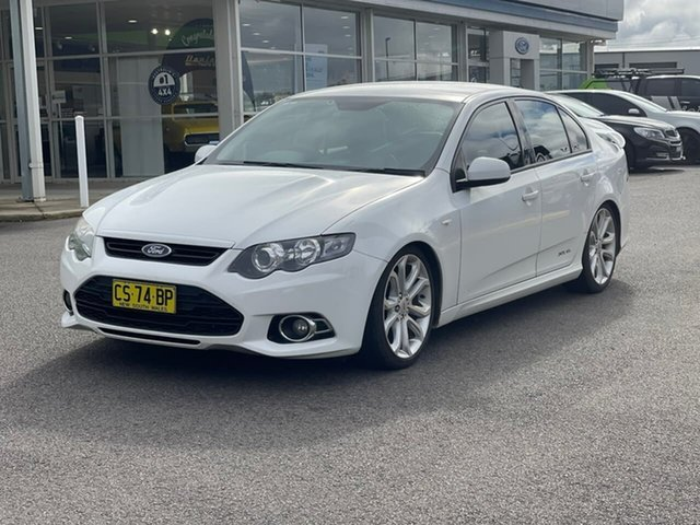 Used Ford Falcon Goulburn, 2012 Ford Falcon XR6 Turbo - Limited Edition White Sports Automatic Sedan