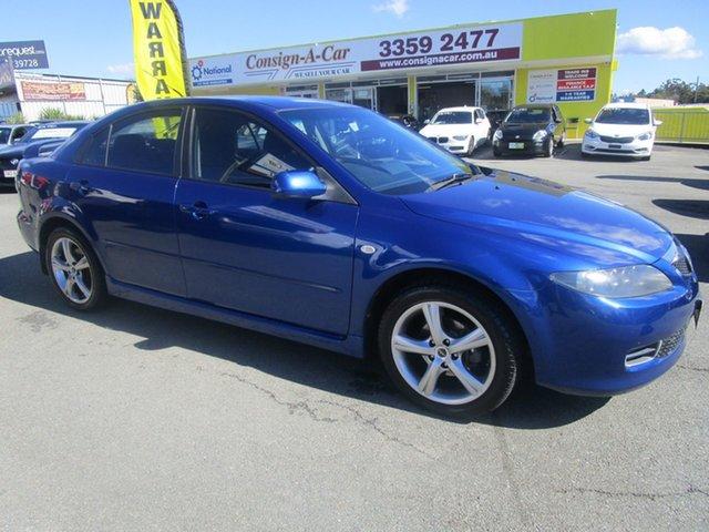 Used Mazda 6 GG1032 Classic Kedron, 2006 Mazda 6 GG1032 Classic Blue 5 Speed Sports Automatic Sedan