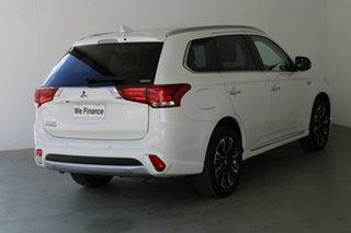 2018 Mitsubishi Outlander ZK MY18 PHEV AWD LS White 1 Speed Automatic Wagon Hybrid