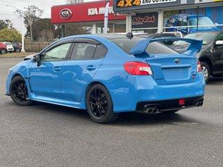 2015 Subaru WRX STI - Hyper Blue Blue Manual Sedan.