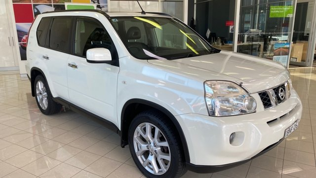 Used Nissan X-Trail T31 MY10 TI Cardiff, 2010 Nissan X-Trail T31 MY10 TI White 1 Speed Constant Variable Wagon