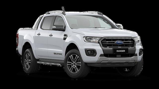 New Ford Ranger PX MkIII 2021.25MY Wildtrak Rutherford, 2021 Ford Ranger PX MkIII 2021.25MY Wildtrak Arctic White 6 Speed Sports Automatic