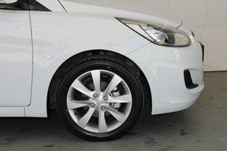 2018 Hyundai Accent RB6 MY19 Sport Chalk White 6 Speed Sports Automatic Hatchback