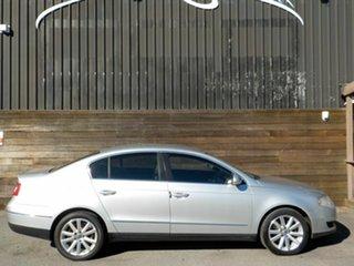 2010 Volkswagen Passat Type 3C MY10.5 118TSI DSG Silver 7 Speed Sports Automatic Dual Clutch Sedan.