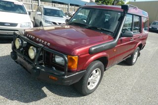 2000 Land Rover Discovery II 00.5MY Td5 Red 4 Speed Automatic Wagon