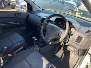 2008 Hyundai Getz TB Upgrade SX White 4 Speed Automatic Hatchback