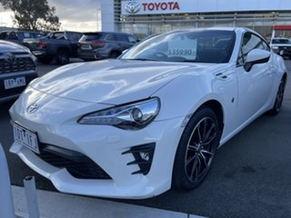 2017 Toyota 86 ZN6 GTS Pearl White 6 Speed Sports Automatic Coupe.
