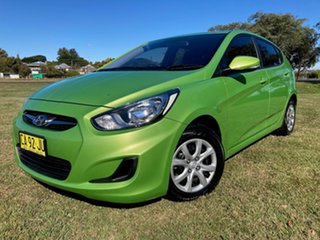 2014 Hyundai Accent RB2 MY15 Active 4 Speed Automatic Hatchback.