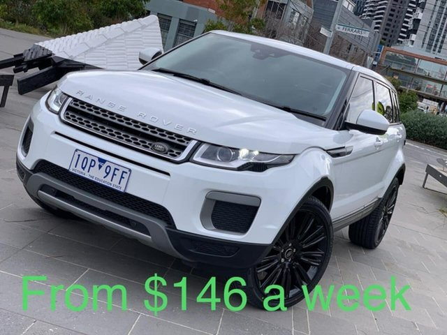 Used Land Rover Range Rover Evoque L538 MY17 TD4 150 SE South Melbourne, 2016 Land Rover Range Rover Evoque L538 MY17 TD4 150 SE White 9 Speed Sports Automatic Wagon