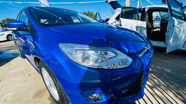 Used Ford Focus LW MkII Trend PwrShift Maidstone, 2013 Ford Focus LW MkII Trend PwrShift Blue 6 Speed Sports Automatic Dual Clutch Hatchback