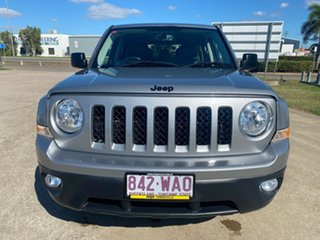 2015 Jeep Patriot MK MY15 Limited Silver/240516 6 Speed Sports Automatic Wagon