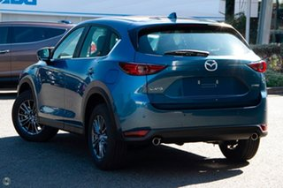2021 Mazda CX-5 KF2W7A Maxx SKYACTIV-Drive FWD Sport Blue 6 Speed Sports Automatic Wagon