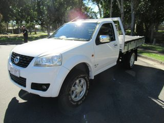 2012 Great Wall V240 K2 MY12 White 5 Speed Manual Cab Chassis