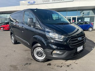 2019 Ford Transit Custom VN 2019.75MY 340S (Low Roof) Black 6 Speed Automatic Van.