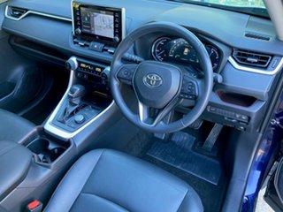 2019 Toyota RAV4 Axah54R Cruiser eFour Saturn Blue 6 Speed Constant Variable Wagon Hybrid.