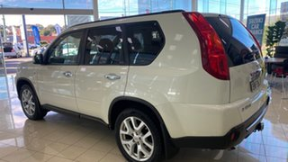 2010 Nissan X-Trail T31 MY10 TI White 1 Speed Constant Variable Wagon