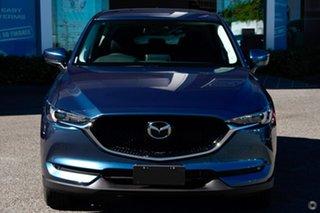 2021 Mazda CX-5 KF2W7A Maxx SKYACTIV-Drive FWD Sport Blue 6 Speed Sports Automatic Wagon.