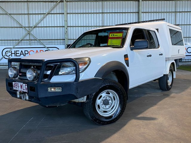 Used Ford Ranger PJ XL Rocklea, 2009 Ford Ranger PJ XL White 5 Speed Manual Cab Chassis