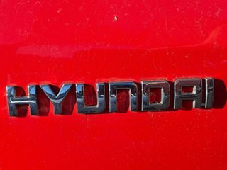 2011 Hyundai i20 PB MY11 Active Electric Red 4 Speed Automatic Hatchback