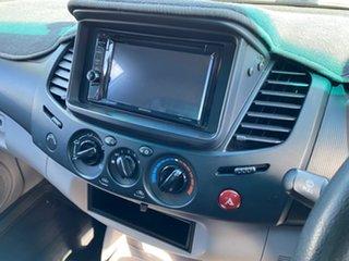 2010 Mitsubishi Triton MN MY11 GLX Silver 4 Speed Automatic Utility